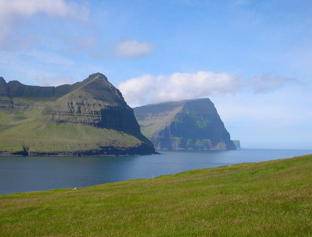 View from Viðareiði
