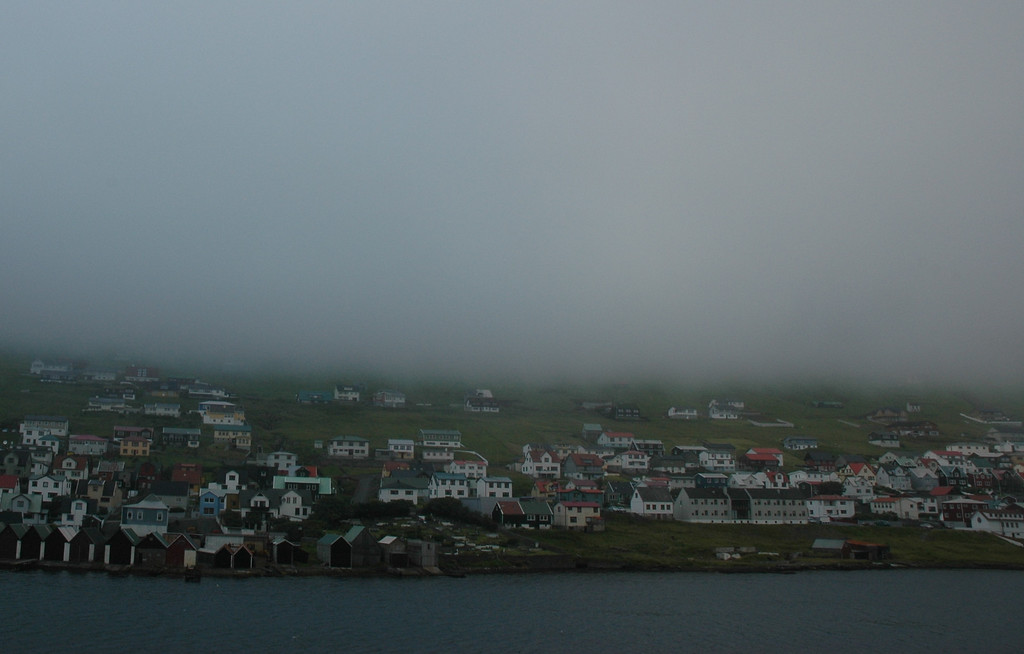 Vagur in the fog