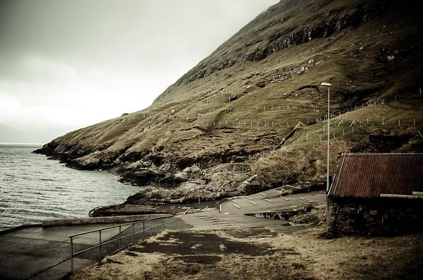 Old Harbor in Hellurnar