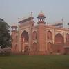 The gatehouse to the Taj Mahal