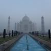 Taj Mahal before sunrise.