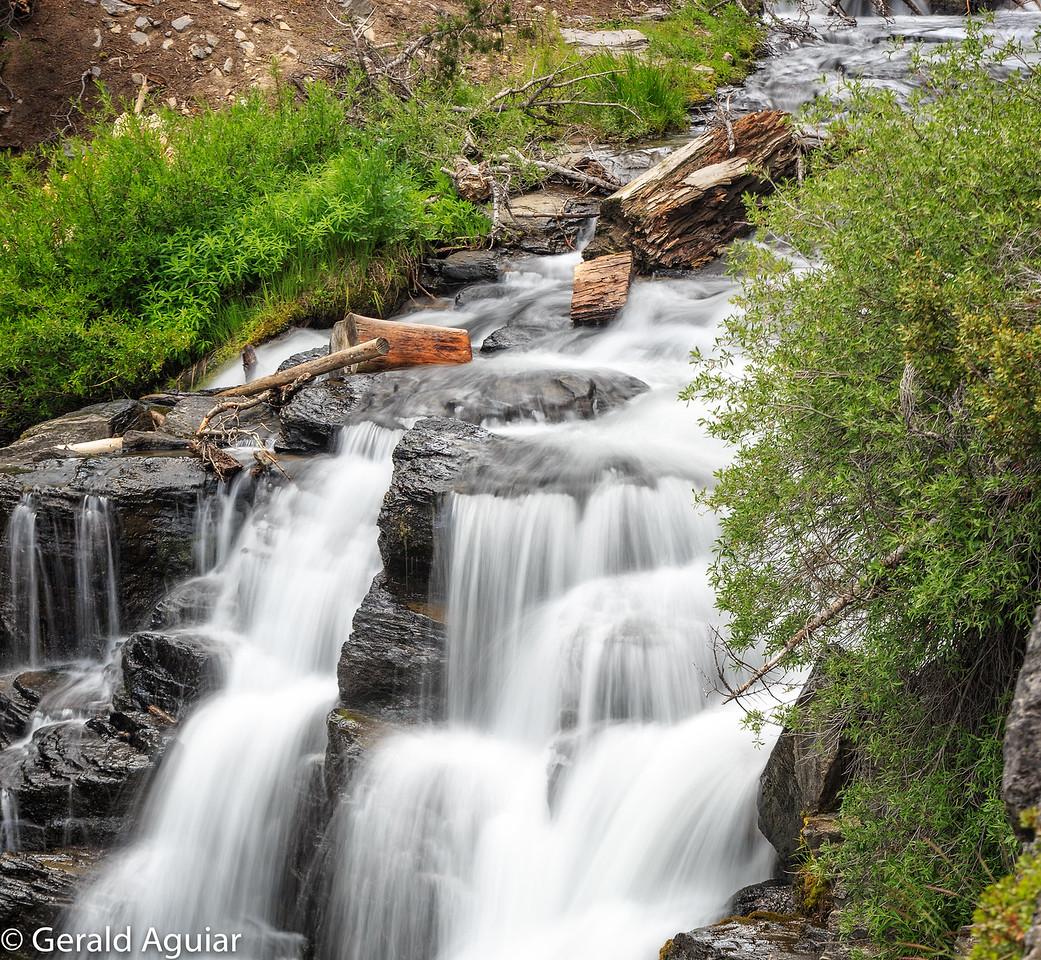 Top of Kings Creek Falls