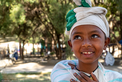#11 – Gondor, Ethiopia.  This cute girl followed me for an hour, asking for money for a picture.  I generally resist such a request except for locals whose job is to pose for pictures by tourists, but this girl was persistent and cute, so I gave her what she requested (50₵).