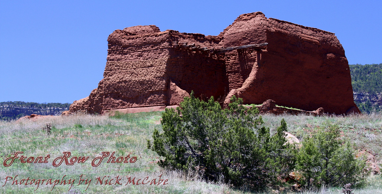 Pecos Pueblo, New Mexico<br /> Near Santa Fe
