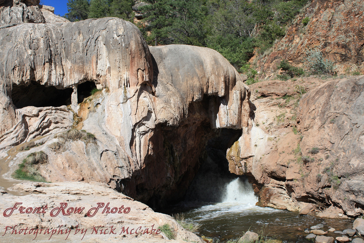 Soda Falls, Jemez River, New Mexico