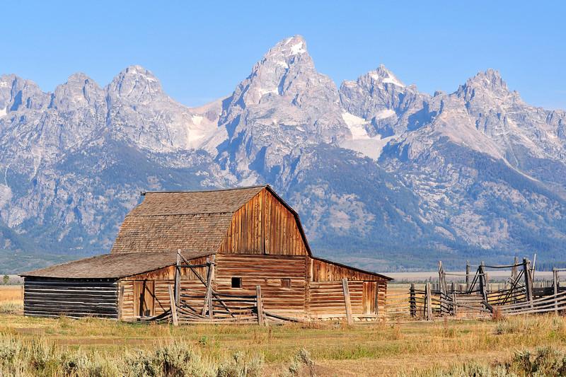 Mormon Row Barn, Grand Teton, Wyoming