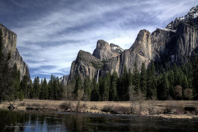 Yosemite During a Warm Winter --- JohnBrody.com / John Brody Photography