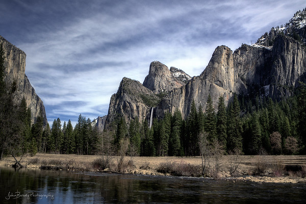 Yosemite During a Warm Winter - JohnBrody.com