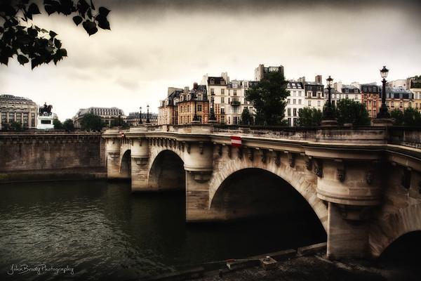 Pont Neuf Bridge in Paris.  - JohnBrody.com / John Brody Photography