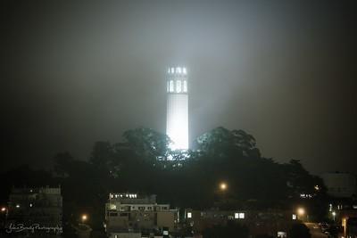 Coit Tower San Francisco - JohnBrody.com / John Brody Photography