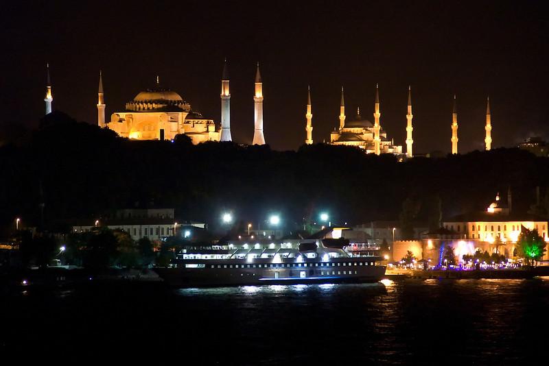 Hagia Sophia and Blue Mosque, Istanbul, Turkey