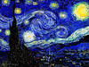 Vincent Van Gogh - Starry Starry Night 1889 - Museum of Modern Art, New York City --- JohnBrody.com