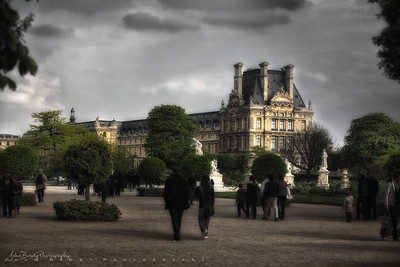 The Tuileries and the Louvre - JohnBrody.com / John Brody Photography