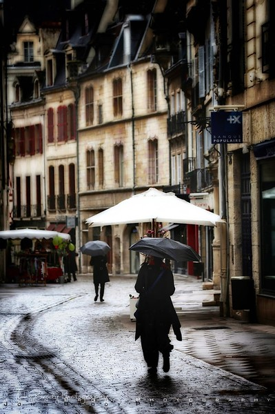 Gothic Backstreet in Dijon France  - JohnBrody.com / John Brody Photography