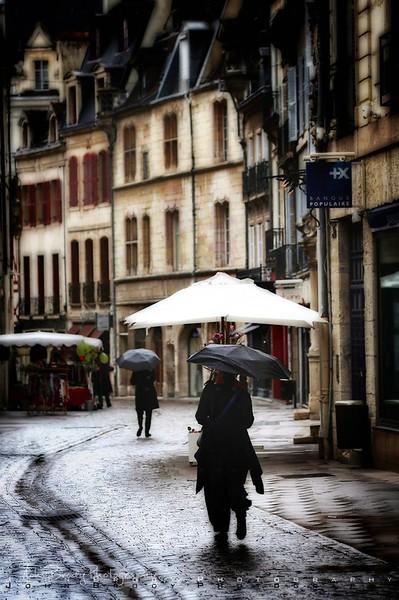 Gothic Backstreet in Dijon France  - JohnBrody.com / John Brody Photography