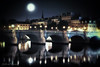 Moonrise Over Pont Neuf Paris France.  When visiting The City of Lights, my days usually begin and end here, my favorite place in Paris. It's a swirl of activity with dozens of cultural greats surrounding it; including the Louvre,  the Eiffel Tower and Notre Dame Cathedral, the Seine Riverfront walkways and the D'Orsay Museum to name a few. The list is endless. A wonderful place you must visit --- John Brody Photography - JohnBrody.com