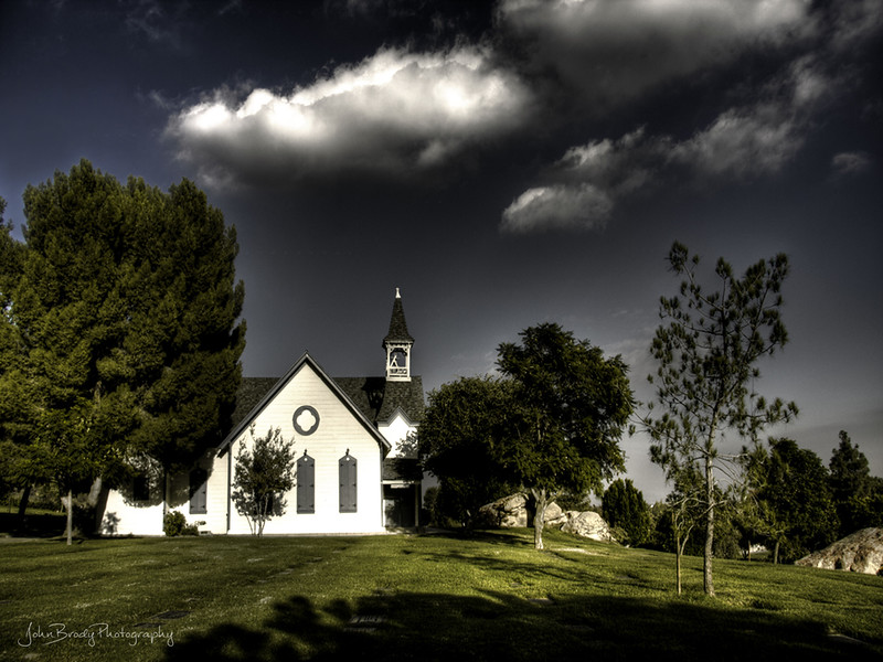 A Chapel on a Hill outside of Hollywood, CA - John Brody Photography - JohnBrody.com
