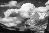 Eiger in Clouds, Swiss Alps
