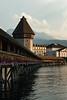 Kapellbrucke, Lucerne, Switzerland
