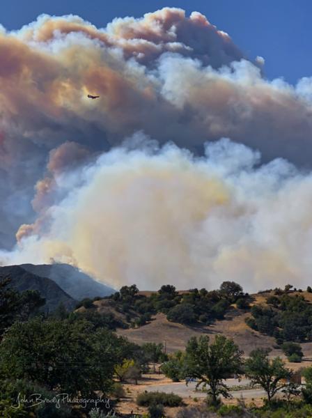 Woolsey Fire Shot in Malibu Creek Park --- IMG_6551