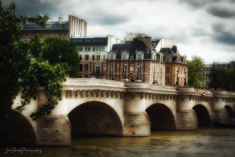 Prime Homes Overlooking Paris at Pont Neuf on the Seine . In my opinion, these are the nicest apartments on the planet. They overlook the Seine river, the Louvre Museum, the Eiffel Tower and basically all of the rest of Paris. Not bad looking themselves :) - John-Brody-Photography - JohnBrody.com
