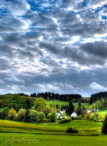 Countryside in Belgium near the Spa / Francorchamps Formula 1 Racetrack   -   John Brody Photography