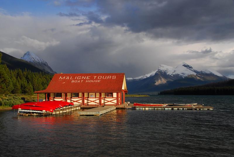Maligne Lake, Canadian Rockies