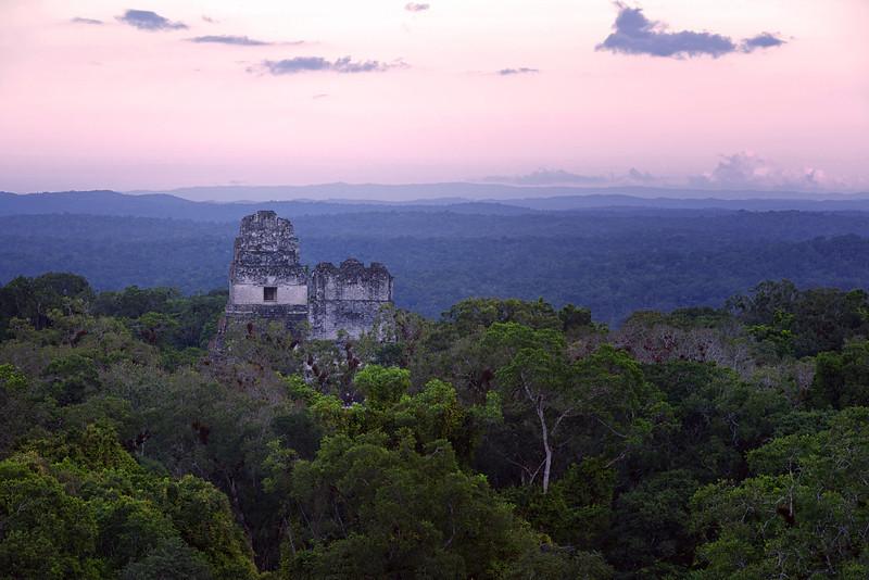 Tikal - scene of rebel base in Star Wars Episode 4