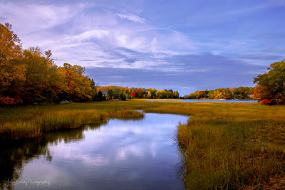 Salt Marshes and Small Village in New England. I made a wrong turn and this is what I found. - A great mistake.....  John Brody Photography / JohnBrodyPhotography.com / JohnBrody.com