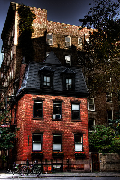 A brownstone near Washington Square in New York City, NY - In the same neighborhood as the Home Studio of Annie Leibovitz - JohnBrody.com / John Brody Photography