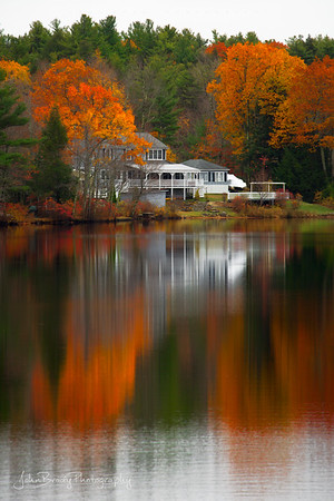 Lakeside on the Vermont New Hampshire border - John Brody Photography