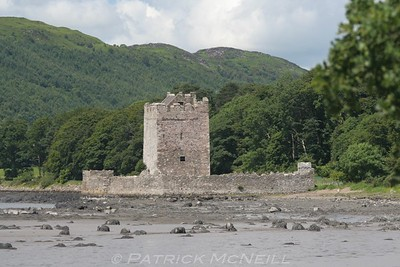 Narrow Water Castle, right on the border, Northern Ireland