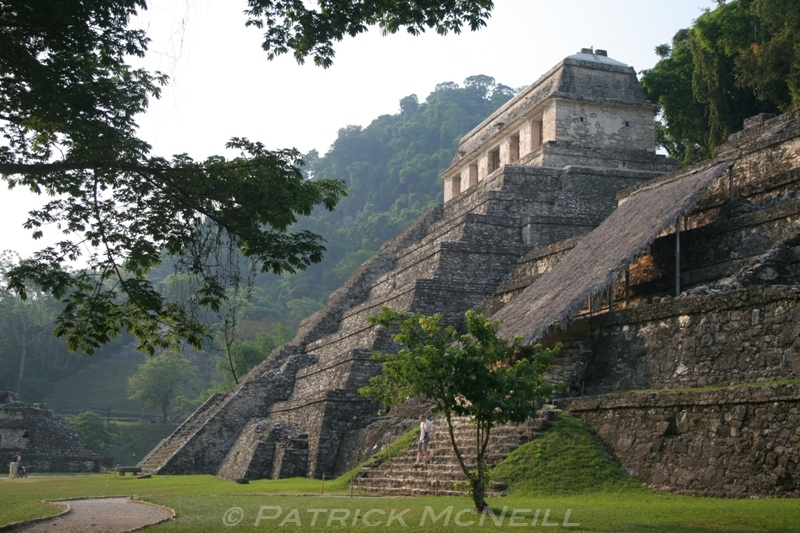 The Mayan pyramids in Guatemala and southern Mexico. These were lost cities deep in the jungle before they were restored to their former glory. Photos from before the jungle was cleared away are staggering. Some crazy stuff happened here, human sacrifices, etc. Most of these cities were simply abandoned and no one knows why. Palenque, pictured here, was where an archeologist found a hidden staircase that led down into the pyramid where he discovered an undisturbed tomb of an ancient king.