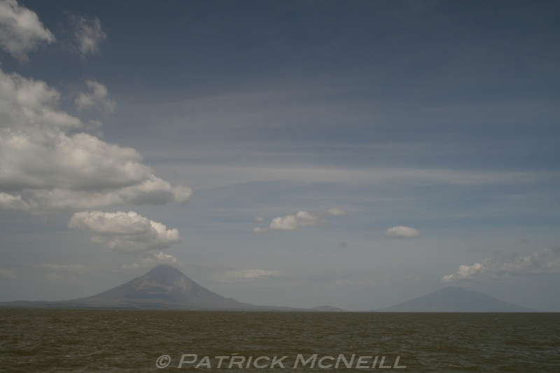 Ometepe Island, Nicaragua - Two volcanos rising up out of the water, an amazing site!