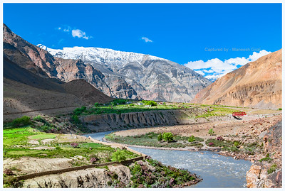 Roads & Terrain in Spiti
