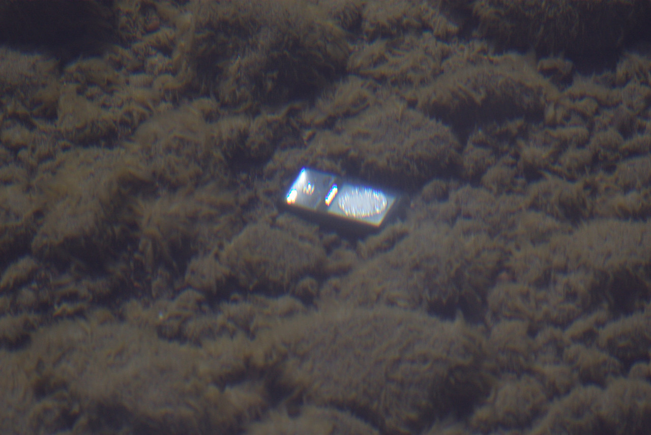 A sunken MP3 player?