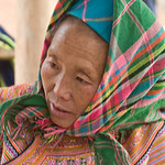 Flower Hmong at the Market -0356