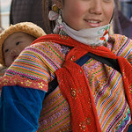 Flower Hmong at the Market -0300