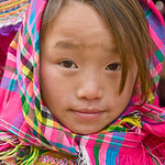 Flower Hmong at the Market -0370