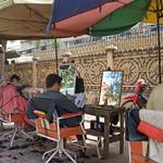 Barber shop on the street _Phnom_Penh-5598