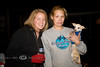 Cindy & One of our new found firends at a back yard bonfire in Virginia