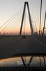Crossing the Ravenel Bridge  in Charleston South Carolina