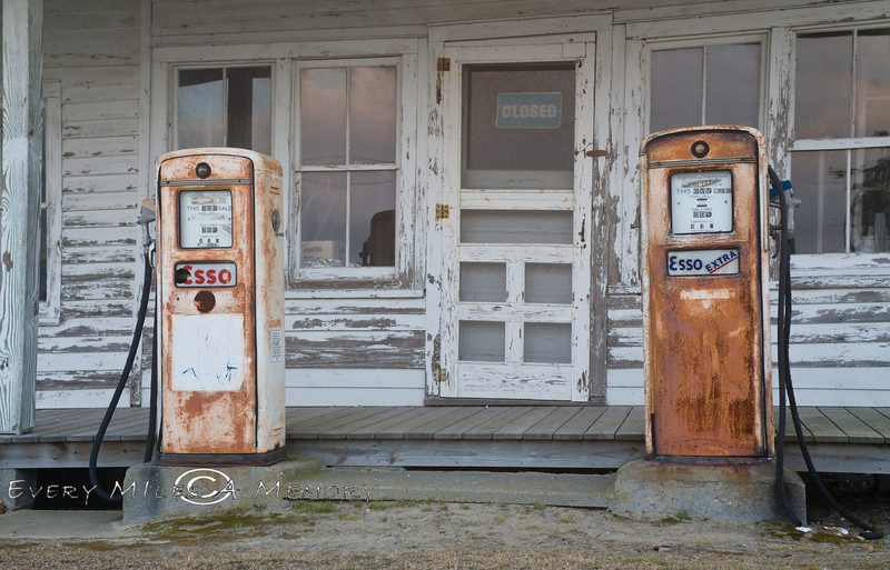 Old Time Gast Station in the Outer Banks, North Carolina