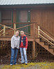 Cindy & Fonda at the Cabin on the River, Clayton Georgia