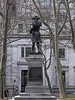 Statue of Commodore John Barry, founder of the U.S. Navy. Located at Independence Hall.