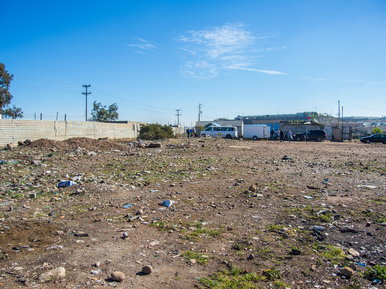I would love to rent a skid steer to clean up this vacant lot for the local kids to play soccer on.