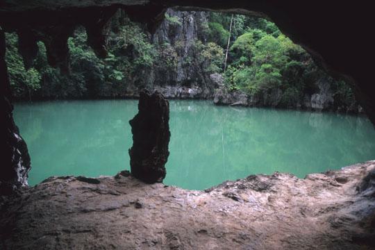 Ko Phangna Bay sea Cave, Thailand