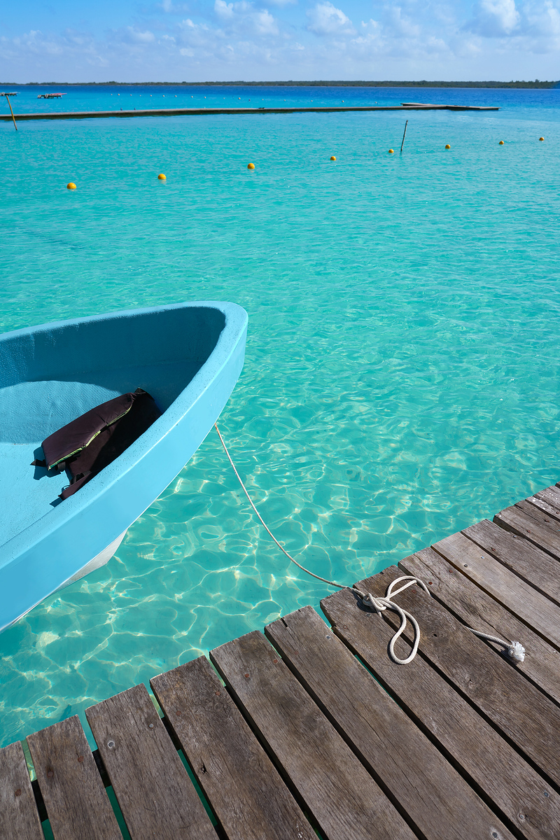 The Bacalar lagoon is a great day trip from Felipe Carrillo Puerto, the city many Mayans believe to be the capital of the region.
