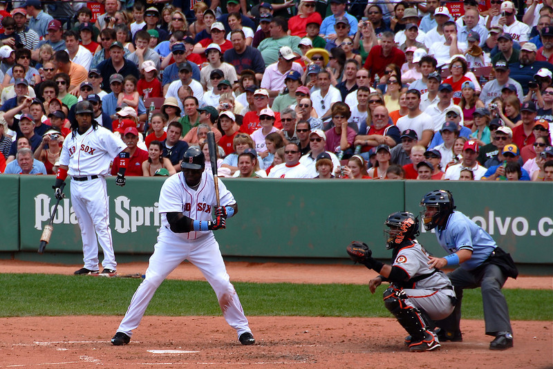 Ortiz Waits For The Right Ball
