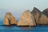 Rock formations, just off shore at Cabo San Lucas